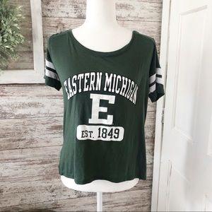 Eastern Michigan University Stripe Jersey